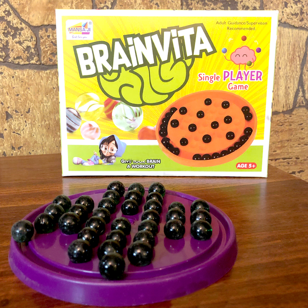 Brainvita / Peg Solitaire Game