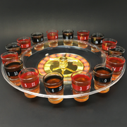 Shot Glass Roulette (Casino Drinking Game) - Transparent Base