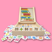 Wooden Multi-Functional Learning Box