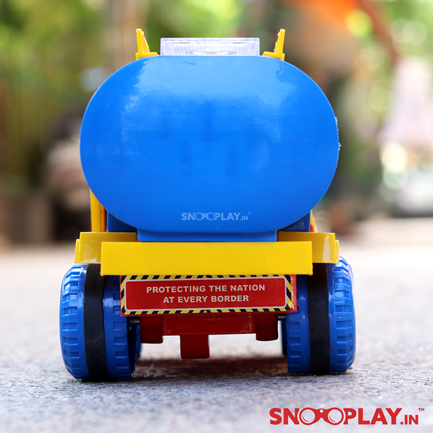 Buy friction powered oil truck tanker toy for kids online- Snooplay.in