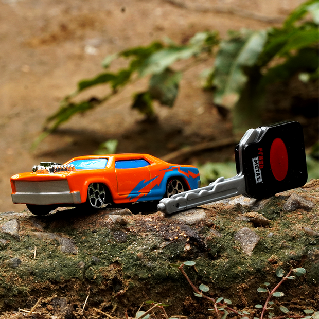 Burning Key Car (Diecast Car with a Launcher)