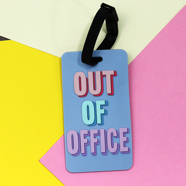 Buy Out Of Office Luggage Tag Travel Essentials Online India Best Price