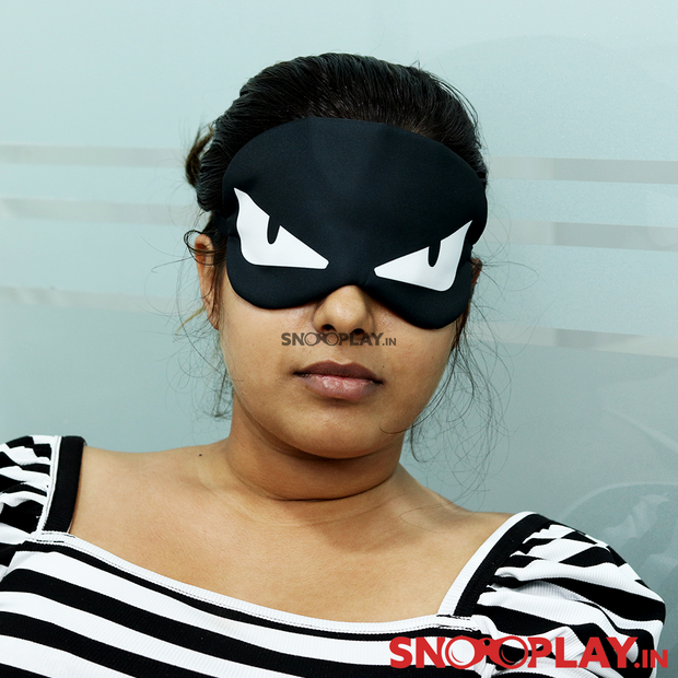Buy Angry ninja sleeping Eye Mask for travel boys girls online india best price