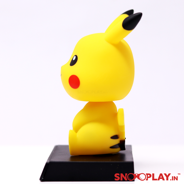 Pikachu Action Figure Bobbleheads Car Decoration with Phone Stand
