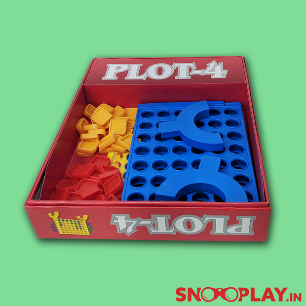 Plot 4 Game ( Connect 4 in a Row)