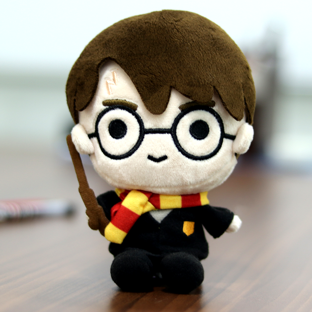 Harry Potter Plush Action Figure Toy (6 Inches)