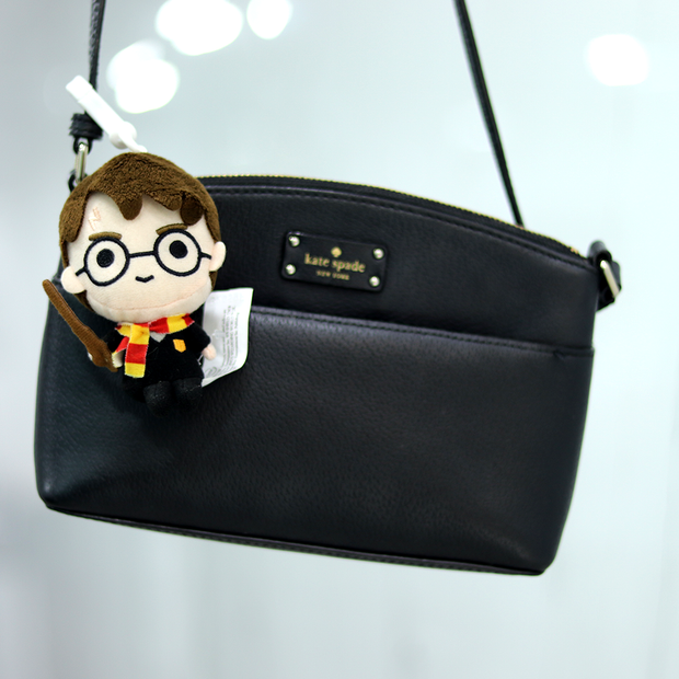 Harry Potter Plush Action Figure Keychain & Luggage Tag (4 Inches)