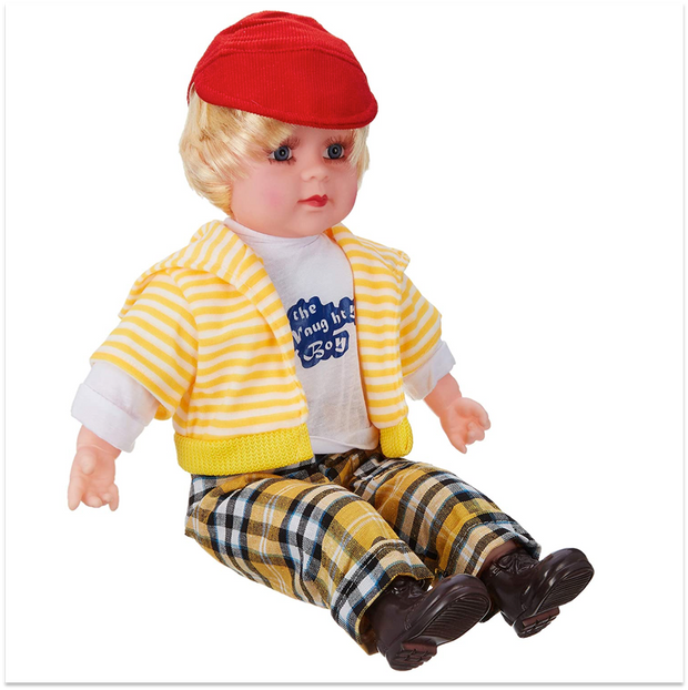 Poem Boy (Battery Operated Doll)