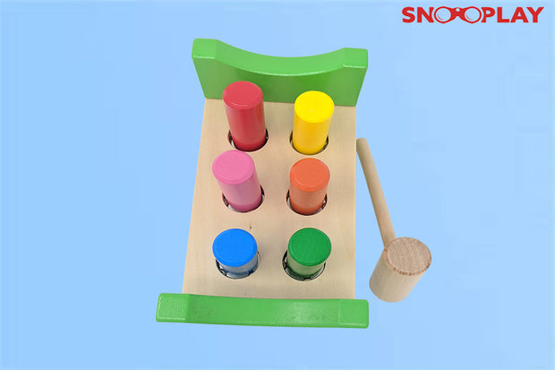 wooden bench hammer wooden toy educational toy kids