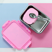 Disney Princess Stainless Steel Lock & Seal Lunch Box Big (800 ml)