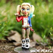 Buy Harley Quinn - Suicide Squad 3D Rock Candy Funko Pop Action Figure (13 cm) Online India Best Price