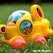 Buy pull along big bunny toy multi colored ball kids- Snooplay.in