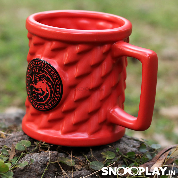 G.O.T Game of Throne House Targaryen Mug