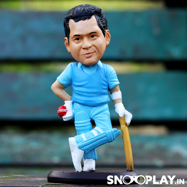 Buy Sachin Tendulkar Action Figure Bobblehead Desk Table Decoration Collectible Best Price