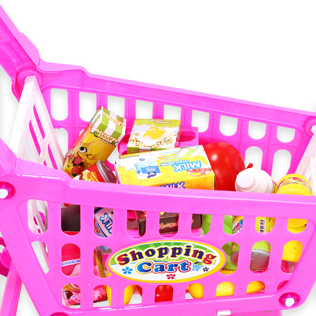 Shopping Cart (Big) Playset Pretend Play Toy Set