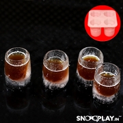 Iced shots Ice Tray Party liquor cocktail mocktail shot glasses quirky gifts online India best price