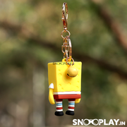 The spongebob keyring comes with a lobster clasp which makes it easier for you to fit in your keys.