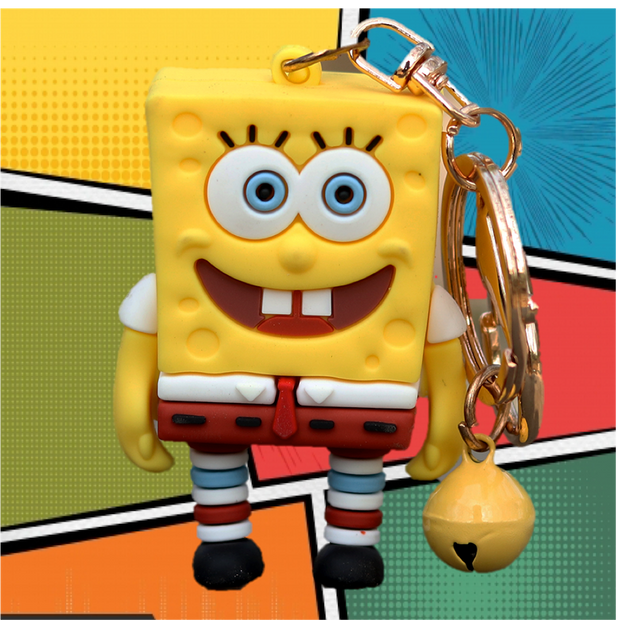 This amazing action figure keyring resembles the coolest character of the show- SpongeBob.