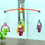 Sweet Cuddles Musical Cot Mobile- Cot Hanging Rattles for Babies