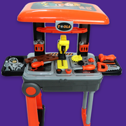Kids Tool Set Suitcase Trolley Playset