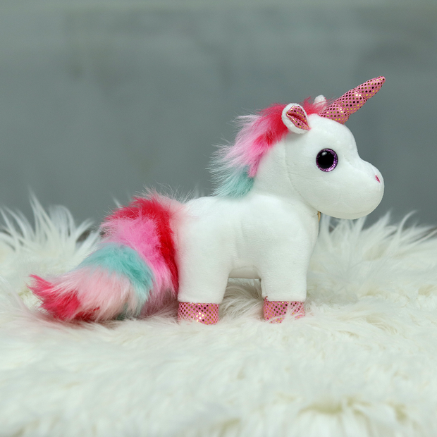 Unicorn Plush Toy Keychain