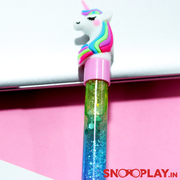 Buy Unicorn Liquid Glitter Filled pen best gift for her gift for girl unicorn lover