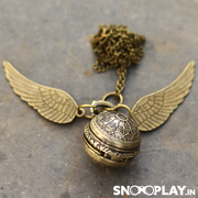 Harry Potter Quidditch Snitch Ball Necklace Watch