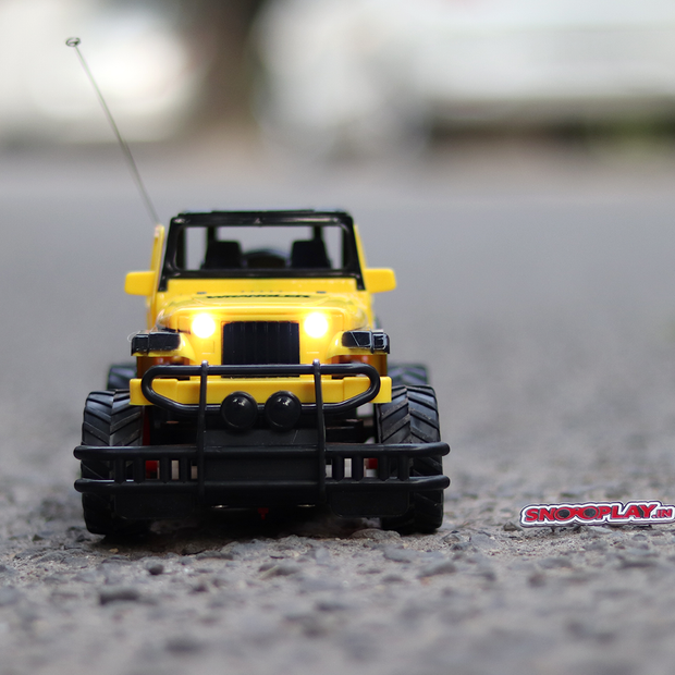 Remote Control Car Off-Road Vehicle (With Opening Doors and Lights)