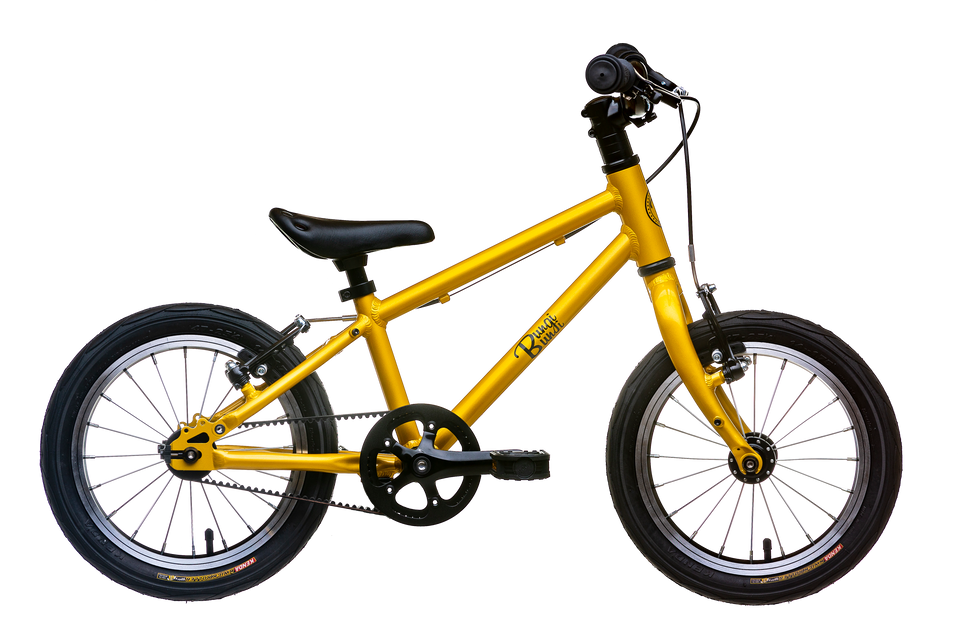 Bungi Bungi Lite 14 Singlespeed<br>2.5-4.5 Years | 95-110cm | 5.4kg | 4 Fruity Colors | PRE-ORDER