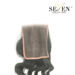 "Indian Deep/Curly Closure (3"" x 4"", No Part)"