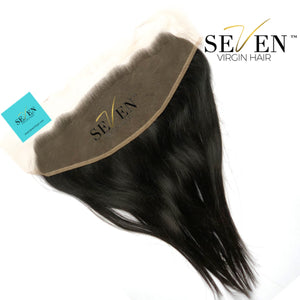 "Indian Straight FRONTAL, (13"" x 4"", No Part)"