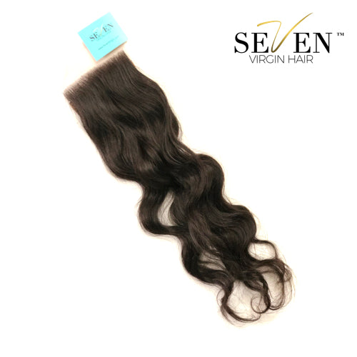 "Indian Body Wave Closure (3"" x 4"", No Part)"