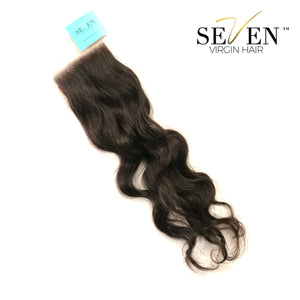 "Indian Body Wave CLOSURE (4"" x 4"", No Part)"