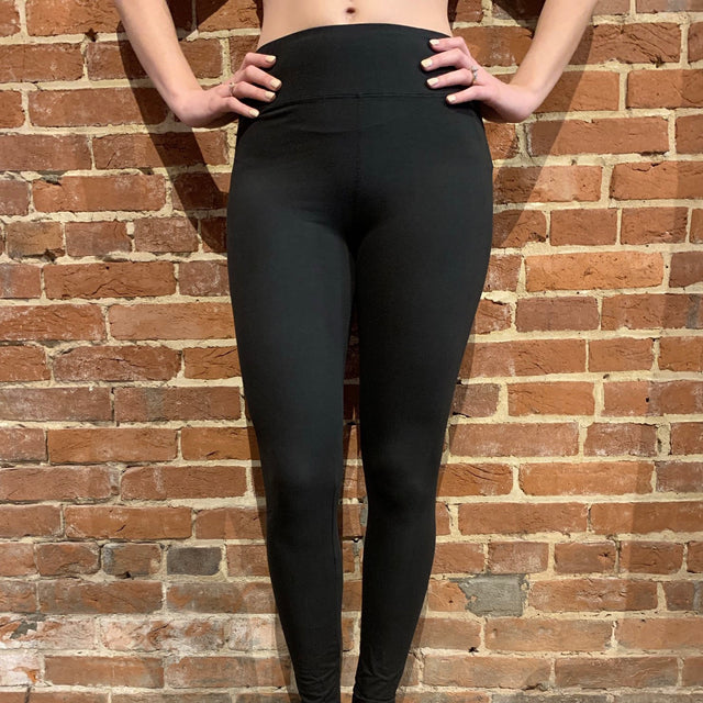 Curvy Yoga Band Full Length Leggings