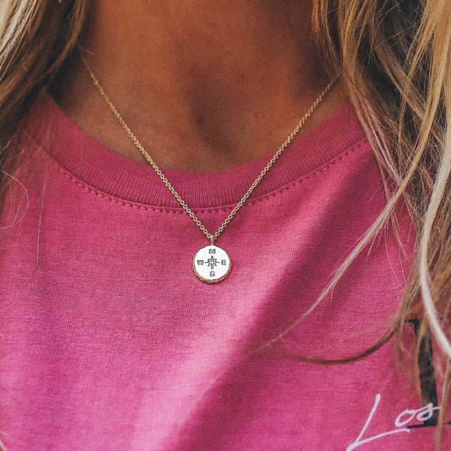 PV Compass Necklace