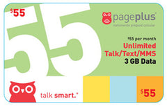 Page Plus Cellular 55 Plan