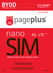 Page Plus Cellular 4G LTE SIM Card