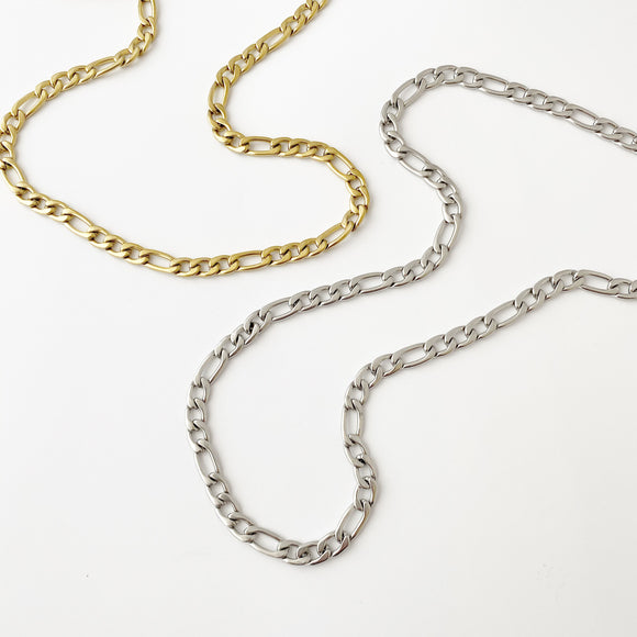 Mens Thick Figaro Chain