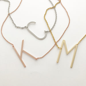 Statement Initial Necklace