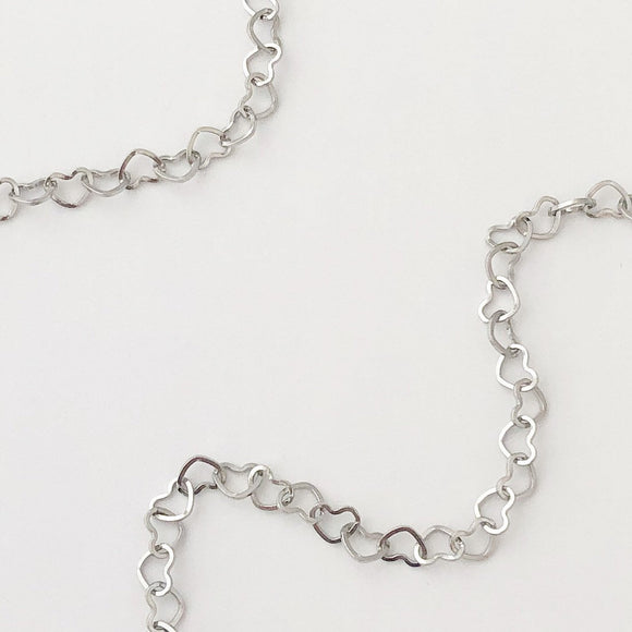 Heart Chain Stainless steel