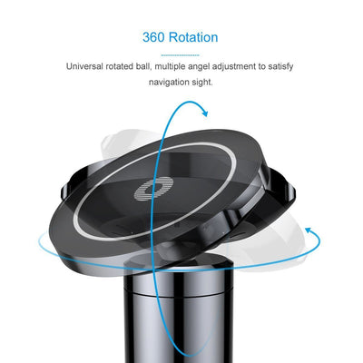 Baseus Car Mount Qi Magnetic Wireless Charger - Charge And Navigate At The Navigate Time