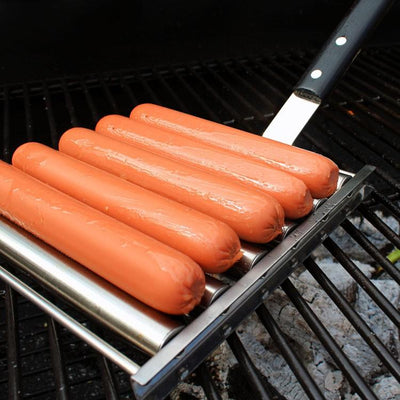 BBQ Ready Hot Dog Roller For Perfectly Cooked Dogs
