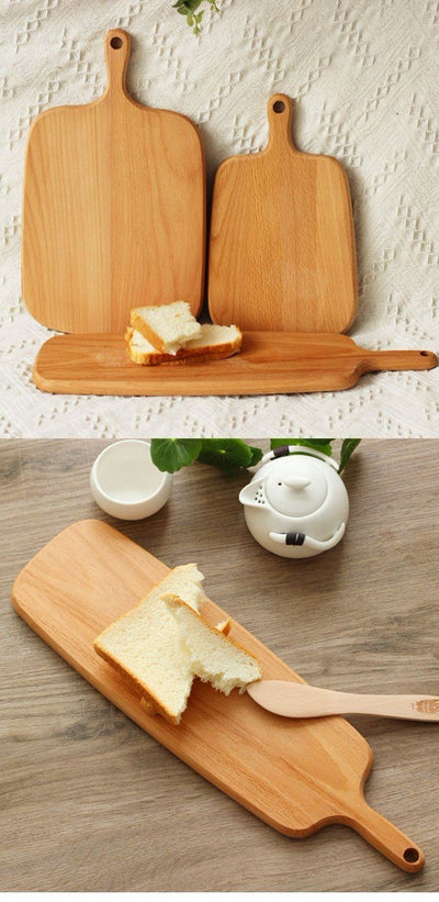Eco Board Solid Beech Wood Cutting Board - 3 Sizes