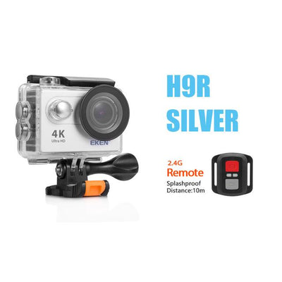"Eken H9R Ultra HD 4K 1080P Action Camera - 30m Waterproof - 2"" Screen"