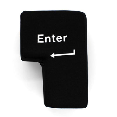 Gadgets - Giant Enter Key That Works! The Perfect Gag Gift