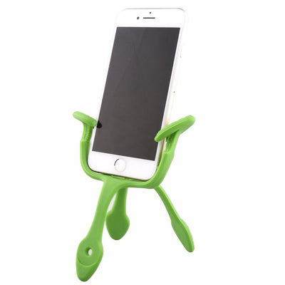 Gekkopod Smartphone Mount - Portable And Extremely Flexible - Can Be Set, Wrapped, Hung And Clung Practically Anywhere - Compatible With All Smartphones