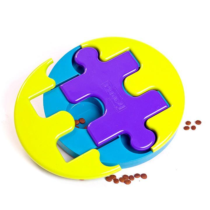 Jigsaw Glider Treat Puzzle With 4 Yummy Solutions! Mentally Stimulating Toy