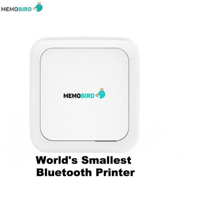 MEMOBIRD Bluetooth Mini Picture And Label Printer - Make Fun Photo Stickers Directly From Your Phone