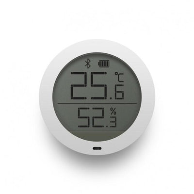 Mijia Bluetooth Digital Thermometer - Monitors Temperature & Humidity - LCD Screen - Smart Home
