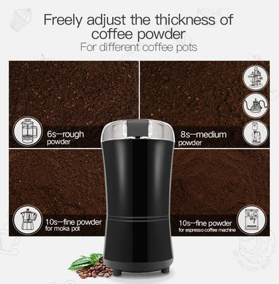 Modern Design Powerful 400W Electric Spice And Coffee Grinder